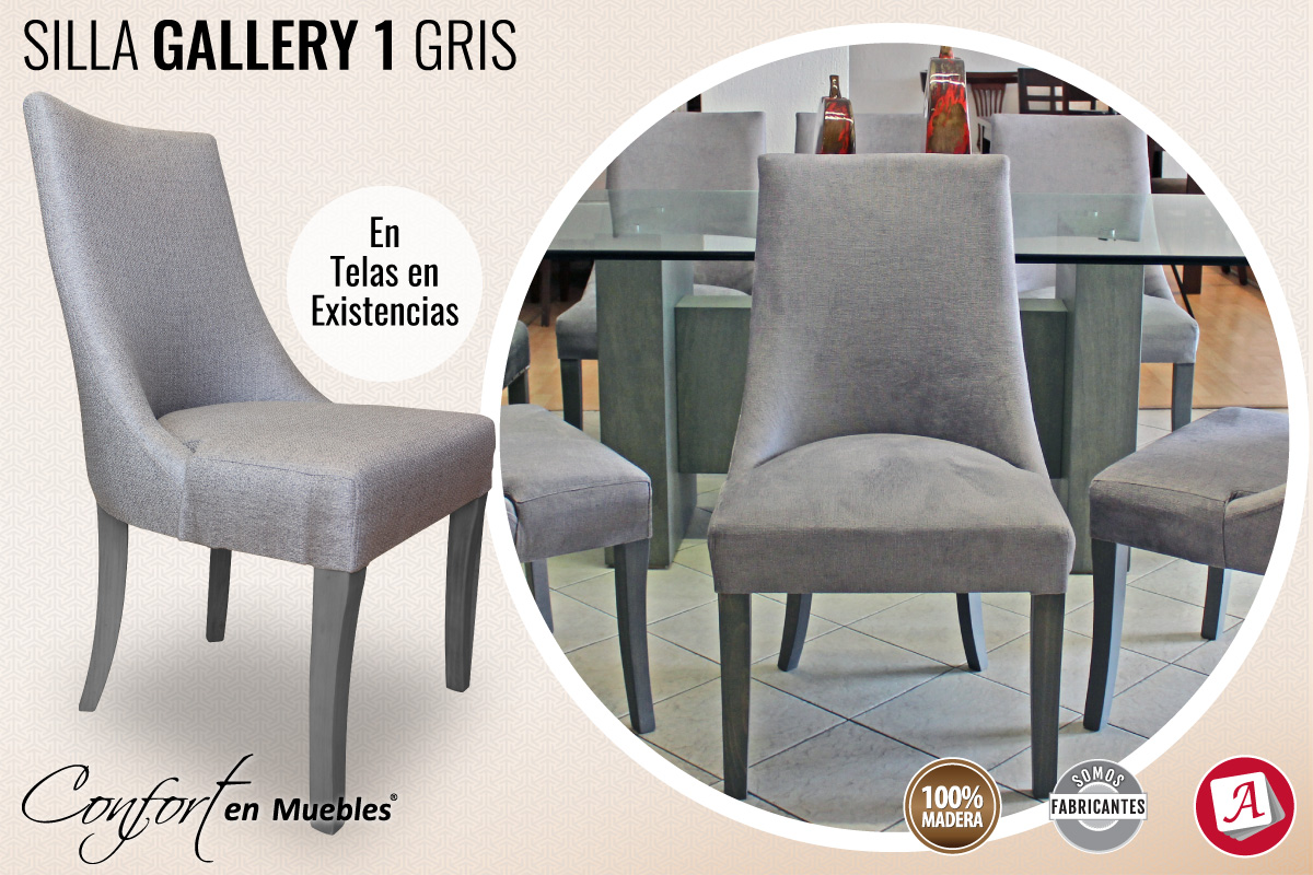 Silla Gallery 1 Gris